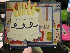 Birthday card using the Celebrations cartridge