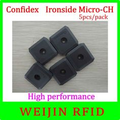 (30.00$)  Buy here - http://aio9k.worlditems.win/all/product.php?id=32687192254 - UHF RFID metal tag 915MHz C1G2 ISO18000-6C Confidex Ironside micro 5pcs per pack Impinj Monza 4QT free shipping