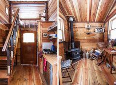 Внутренняя отделка дачной бытовки деревянной вагонкой