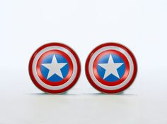 Cufflink Captain America Cuff links Accessories for by Gentlinks, $22.50
