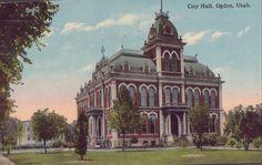 City Hall-Ogden,Utah 1915