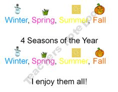 Seasons Song - Dr. Jean