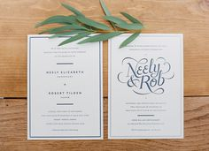 invite   Read More: http://stylemepretty.com/2013/10/02/tennessee-farm-wedding-from-brooke-boling/