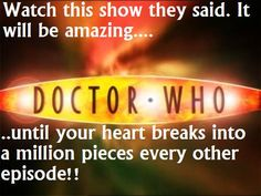 Yeah... Why didn't some one warn me that my heart would be under major abuse?! Its an addicting show!