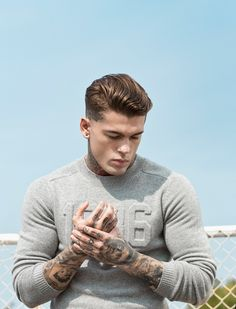 Stephen James photographed by Edu García and styled by Gerard Solé, for the April 2015 issue of Men's Health Spain.