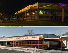 Stranger Things - The Arcade is one of the new locations for Stranger Things season The production built this set in what had been a laundromat in Douglasville, Georgia Stranger Things Location, Stranger Things Filming Locations, Arcade, Douglasville Georgia, Strange Things Season 2, Lego Building, Building Ideas, Air Hockey, Blockbuster Movies
