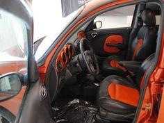 orange PT interior