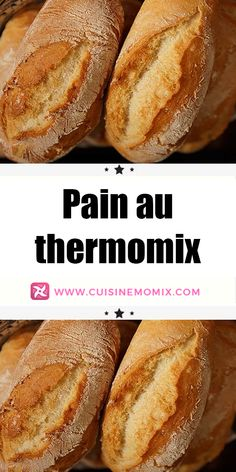 Baguette, Thermomix Desserts, Croissants, Hot Dog Buns, Coco, Chicken Recipes, Brunch, Menu, Nutrition