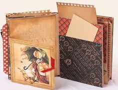 ABC Primer Scrapbook Mini Album unique gift for door scrapologist