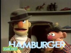 Ernie & Bert Letter H - This one always scared me to death!