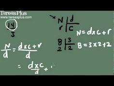 Convertir números mixtos a fracciones y fracciones a mixtos Math Equations, Fractions, Studio