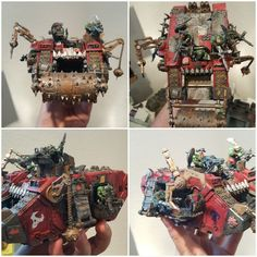 Looted Ork Landraider with Deff Rolla'