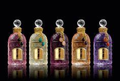 Sylvia Toledano imagine des bijoux pour les parfums Guerlain