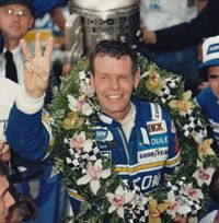 Bobby Unser wins his third Indy 500. (Indianapolis 500. 1981.0