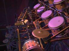 Animusic - Drum machine (2001)