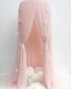 Reliable Romantic Pink Round Mosquito Lace Net For Baby Hung Dome Bed Dome Tents Baby Adults Ceiling Hanging Canopy Decor Fragrant In Flavor