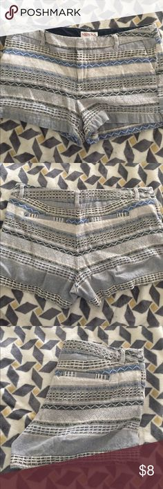 Printed cotton shorts Washed but never worn (too big) Merona Shorts