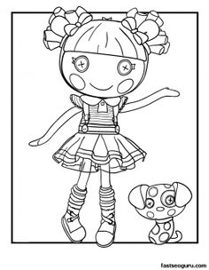 The Best Lalaloopsy Dolls Coloring Pages | Lalaloopsy, Dolls and ...