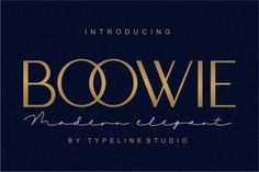 Boowie Sans Serif Font is a minimaist font sans serif regular and italic version.Boowie perfect use for logos, print, collage, body text, and more! It looks minimalist a really cool modern-meets-vintage look to any piece. Design Typography, Typography Fonts, Lettering, Art Deco Font, Latest Fonts, Modern Fonts, Elegant Fonts, Classy Fonts, Signature Fonts