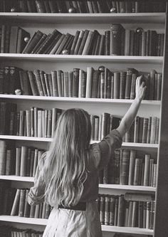 A good book on your shelf is a friend that turns its back on you and remains a friend. by somehowlou, via Flickr