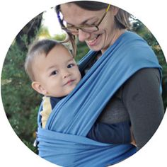 Baby wrap: one fun way to carry your baby close to your heart!