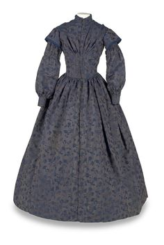Day dress ca. 1845-55 From the Indiana State Museum