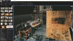Volumetric Video for Virtual Reality 3d Reconstruction, Point Cloud, Visual Cue, 3d Tree, Computer Setup, Immersive Experience, 3d Modeling, Image Shows, Three Dimensional