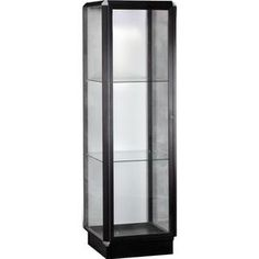 Prominence Series Lighted Tower Display Case - Christopher's Pick