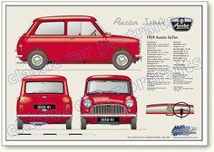 Austin Seven Mini 1959 to 61