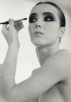 Sylvie Guillem AND makeup inspiration in one!