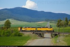 RailPictures.Net Photo: 1123 Union Pacific EMD GP60 at Says Saxby, WA on the map, Washington by M. S. Repp