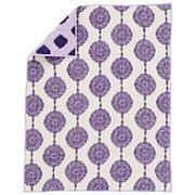 Baby Sheets: Purple Bazaar Fitted Crib Sheet in Crib Fitted Sheets