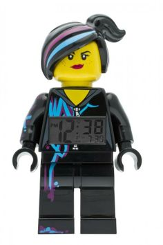 LEGO Movie Wyldstyle Minifigure clock
