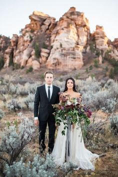 Candlelit Elopement in Zion National Park Elopement Ideas for Intimate Weddings #wedding #weddingideas #weddingphotos