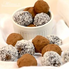 Delicious (and easy) No Bake Chocolate Truffles from My Real Food Family