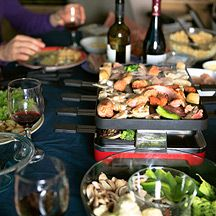 Enjoy Raclette with Weight Watchers