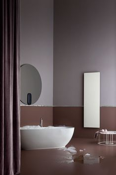 The choice of #technology depends on the #environmental and functional needs, as well as on the preparation of the systems. Decorative Radiators, Livingstone, Bathroom Lighting, Technology, Mirror, Health, Furniture, Design, Home Decor