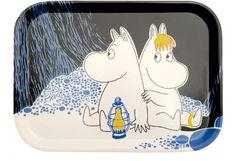 Muurla - Muurla Muumi Moomin Night -tarjotin 27 x 20cm