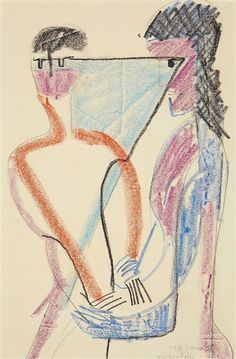 Ernst Ludwig Kirchner, Selbstkontrolle - 1928
