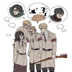 Anime Meme, Otaku Anime, Anime Guys, Manga Anime, Attack On Titan Comic, Attack On Titan Season, Attack On Titan Fanart, Levi X Eren, Armin