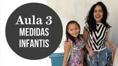 Aula 3 Como tirar medidas infantis  Alana Santos Blogger