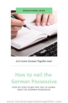 How To Nail The German Possessive What Have You Done, Let It Be, Dative Case, Learn German, Prepositions, New Words, Students, Things To Come