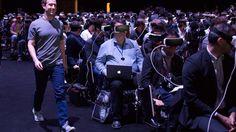 VR demo at Mobile World Conference.