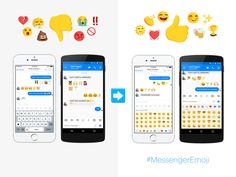 Facebook is making it easier to say what you really mean on Messenger. Wave goodbye to emoji misinterpretation, because you can now choose from a wider, more diversity range of icons.