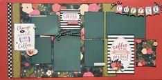 Scrapbook Designs, Scrapbook Sketches, Scrapbook Page Layouts, Scrapbooking Ideas, Photo Layouts, Baby Scrapbook Pages, Wedding Scrapbook, Diy Scrapbook, Couple Scrapbook