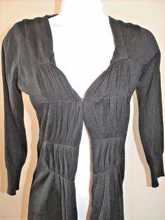 NWOT Ava Pleated Cardigan Sweater Sz XS 0 Cotton Silk Blend #Ava #Cardigan