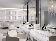 If I ever designed a salon I would want it to be as luxurious as this... | Design Mecca