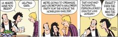 As this Jim Borgman #comic shows, #crowdfunding can be used for good or for great! :-)  cbcwebcollege.com/crowdfunding.htm