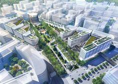 Foster's Hongqiao Vantone Sunnyworld Centre Breaks Ground
