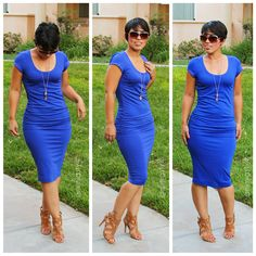 DIY Casual T-Shirt Dress   Pinterest Inspired.............www.mimigstyle.com